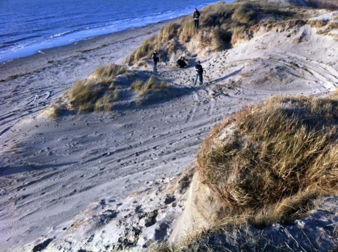 Het strand bij de Kaloot