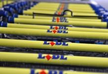 Lidl supermarkt in Heinkenszand