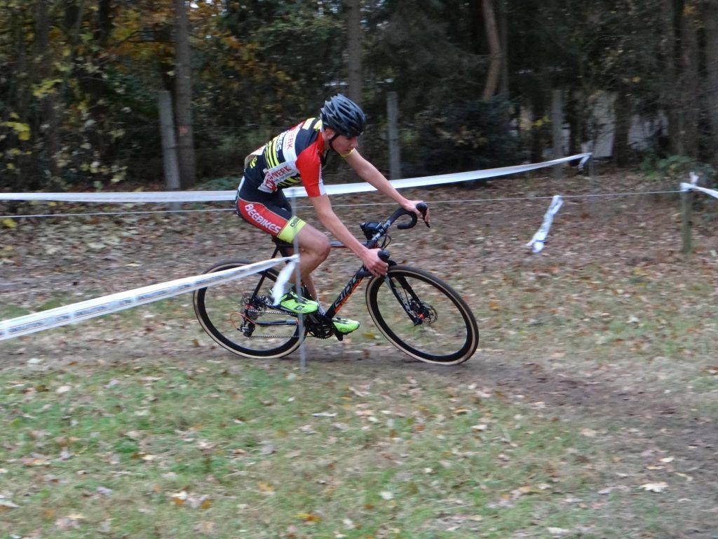 1ste plaats Jarmo Visser in Huijbergen