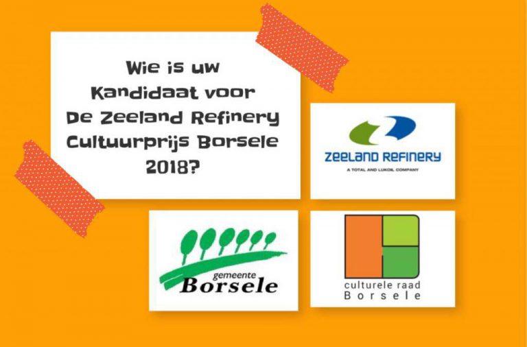 Zeeland Refinery Cultuurprijs Borsele 2018