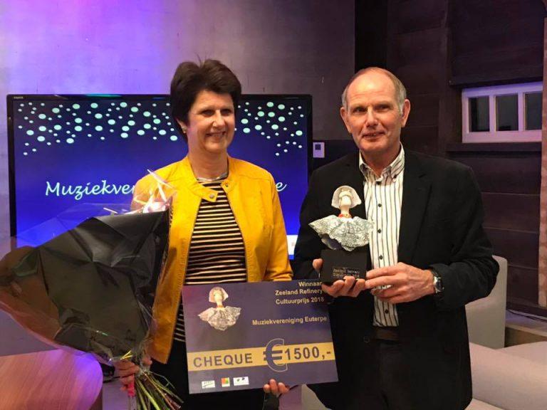 Muziekvereniging Euterpe wint Cultuurprijs